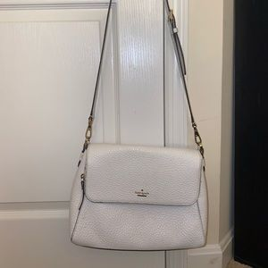 Kate Spade white cross body bag